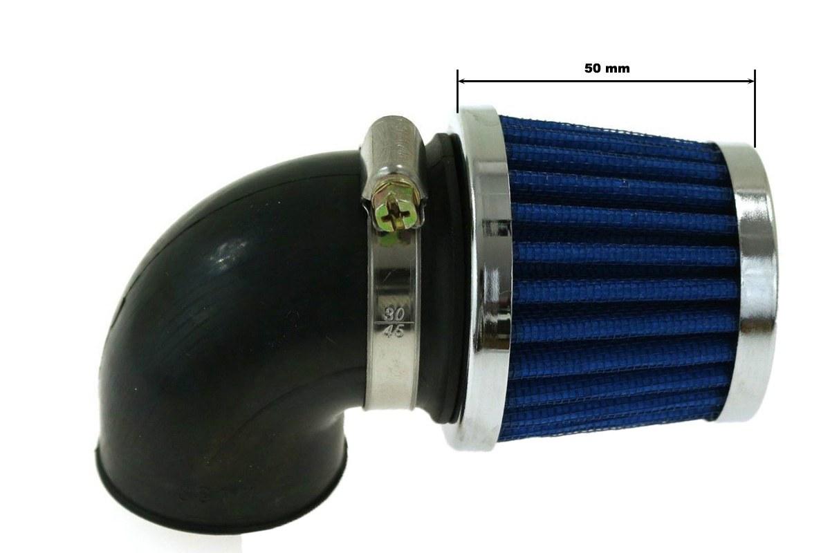 Moto Filtr stożkowy SIMOTA 90st 32mm JS-8243-4 - GRUBYGARAGE - Sklep Tuningowy